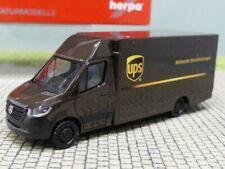 1/87 Herpa MB Sprinter `18 Paketverteilerfahrzeug UPS 095143