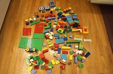 Lot of 5 pounds lbs LEGO Duplo Bricks Blocks Various Size Colors Pieces