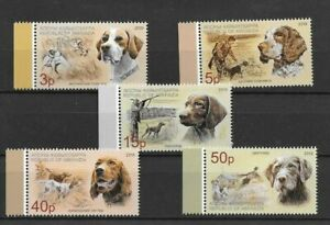 ABKHAZIA / 2019, Dogs (PERFORATED), MNH