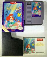 Disney's The Little Mermaid (Nintendo Entertainment System, 1991) CIB Complete