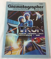 August 1982 American Cinematographer ~ Disney TRON