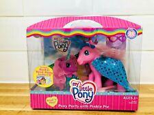 My Little Pony Party With Pinkie Pie 25th Birthday G3 BNIB HTF Read Play Vintage