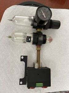 Air Regulator/Lubricator/Filter Norgren PTH-201-A1AA, 1/4 PTF - With Air Control