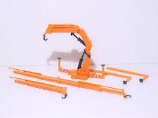 1:87 EM4104 schwerer Ladekran in orange Kibri für Herpa und Co Umbau Eigenbau