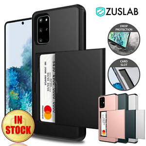 For Samsung Galaxy S20 Plus Ultra S10 S10e S9 S8 Note 9 Case Wallet Card Holder