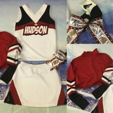 5pc Real Cheerleading Uniform Adult Sm Or Size 4