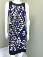 AB Studio Bright Multi Colored Dress~ Size M