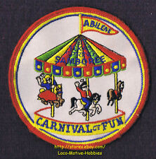LMH Patch 1993 GOOD SAM CLUB  Spring SAMBOREE Rally CARNIVAL Carousel ABILENE TX