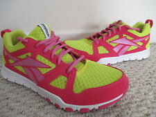 REEBOK SUBLITE FOAM PINK & YELLOW ATHLETIC SHOES SIZE 9.5 WOMENS