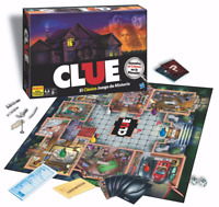 Clue The Classic Mystery Game Spanish Edition New Sealed Gift Hasbro Board Game