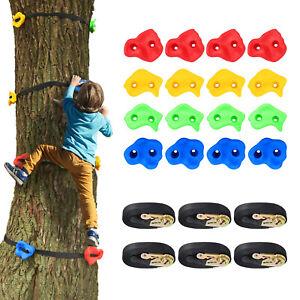 18 Stück Kinder Klettergriffe Klettersteine belastbar bis 300kg für Kletterwand