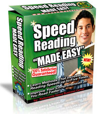 SPEED READING MADE EASY PDF EBOOK FREE SHIPPING RESALE RIGHTS