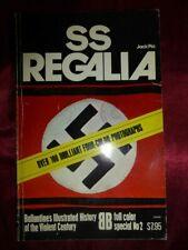 SS REGALIA by Jack Pia Paperback BOOK 1974 Ballantine's World War II Germany