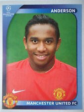 Panini 20 Anderson Manchester United UEFA CL 2008/09