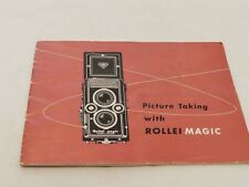 ROLLEI MAGIC INSTRUCTIONS
