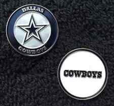 New NFL Dallas Cowboys 2 sided Golf Ball Marker
