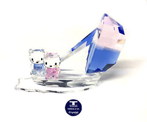 """[SPECIAL OFFER] """"Cats Boat Sailing"""" Austrian Crystal Figurine was AU$135.00"""