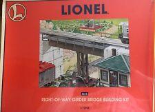 Lionel Girder Bridge Building Kit 6-12968