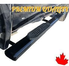 Side steps running boards Nerf bar 5'' fits Silverado Sierra 07 -18 Extended cab