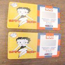 2 ricarica TIM Betty Boop validità 03 06 2002 110000