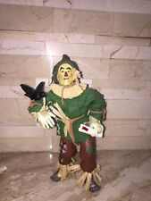 THE WIZARD OF OZ FABRIC MACHE SCARECROW FIGURE