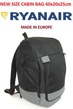 MADE IN EU Ryanair New Size 40 x 20 x 25 Small Hand Cabin Bag 40x20x25 Backpack