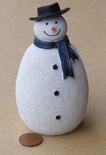 Escala 1:12 Casa De Muñecas Hombre de Nieve Navidad Decoración De Jardín Navidad Accesorio