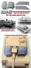 1/35 Scale StuG III G Concrete/Wood Armour (Fits Tamiya Kit #35197) STB04 VGD