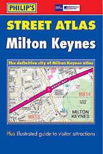 Milton Keynes, Leighton Buzzard and Buckingham Street Atlas (Philip's-ExLibrary