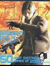 2005 GMR Video Game Magazine February Vol. #25 Resident Evil 4 Last Issue Rare