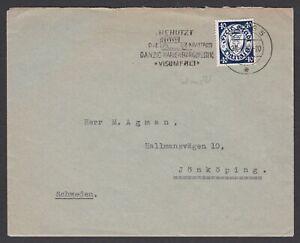 Germany. Danzig. Commercial Cover to Jonkoping, Sweden. Sent 24/04/1939