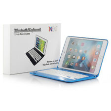 Foldable Wireless Bluetooth Keyboard Case Cover W/ Stand For iPad Mini 4 Blue US