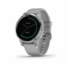 Garmin vivoactive 4S Smartwatch - (Powder Gray/Stainless)