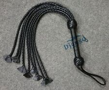Cat-O-Nine Tails Top Quality Handmade Leather Flogger Whip Adult play Bullwhip