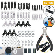 Universal Instant Fix Zipper Repair Kit Replacement Zip Slider Bags Tent Zippers