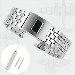 20 21 mm Watch Bracelet Fit For IWC Pilot Mark Series Watches Solid Watch Band