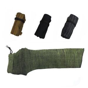 "14"" Handgun Sock Pistol Sleeve Silicone Treated Gun Storage Cover Bag Military"