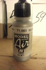 AIRBRUSH PAINT VAL063 - AV Vallejo Model Air - Silver (Metallic)