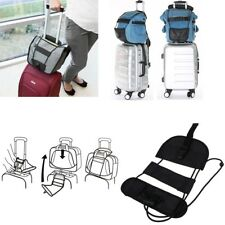 4 x Add A Bag Strap Luggage Suitcase Adjustable Belt Carry On Bungee Strap AU