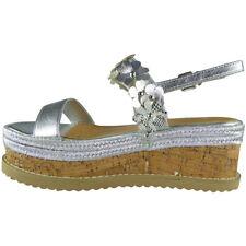 Womens Ladies Platform Peeptoe Flatform Summer Wedding Shoes Wedge Sandals Sizes