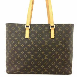 100% Authentic Louis Vuitton Monogram Luco Tote Bag