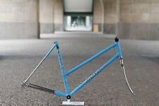 Hugo Rickert Ladies Frames Fork 51 cm light blue / Reynolds 531 / Frame & Fork