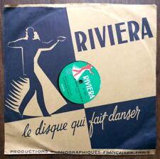 ►VINYLE 78 T. - RIVIERA - 1702 - EDDIE  BARCLAY - BALLADE PARIS
