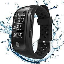 GPS Smartband Letine Herzfrequenz Pulsuhr Multi Sport Uhr Fitness Smartwatch
