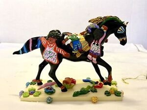 New In Box Trail of The Painted Ponies-Children Of The Garden,1st Ed Retired