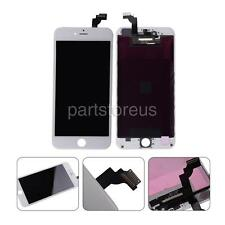 US White LCD Screen + Touch Digitizer Assembly For iPhone 6 Plus 5.5'' + Frame