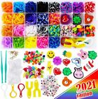2200 Loom Rubber Bands For Bracelet Colorful Jewelry Making Kit For Kids Craft