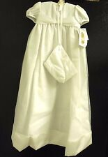 Christening Gown Matching Bonnet Shawl Size 12 Little Things Mean A Lot