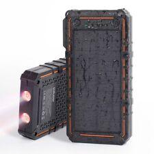 Easyacc Miaow Waterproof 10000mAh Solar Power Bank SOS Strobe LED Lighting