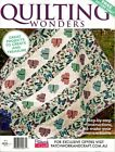 QUILTING WONDERS MAGAZINE NO 2. 2014 PATTERN SHEET ATTACHED